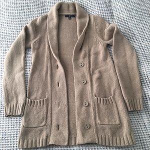 GAP long button up cardigan